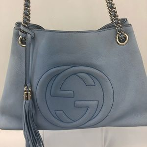 Gucci Soho Nubuck Leather medium bag